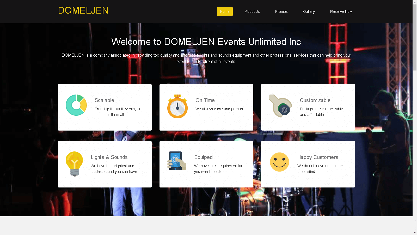 Domeljen - Inventory and Reservation.